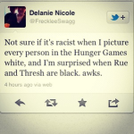 not sure racist - everyone's white